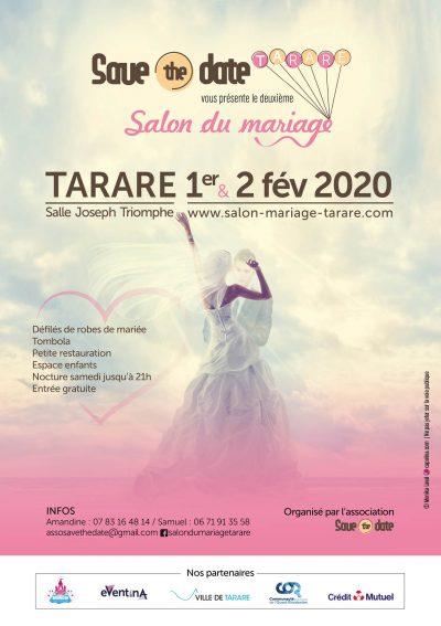 flyer salon du mariage tarare 2020